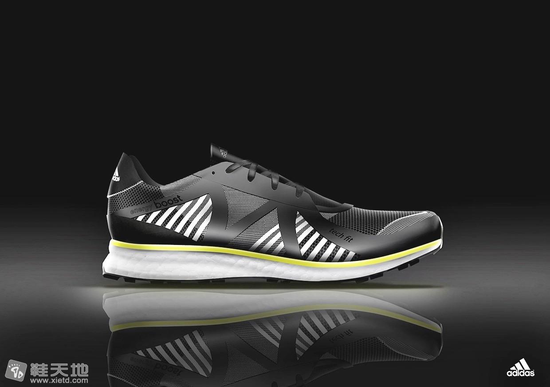 Adidas 性能跑步鞋3D效果图 3D效果图,Adidas,跑步鞋 鞋天地