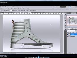 Photoshop鞋类工业设计训练视频教程