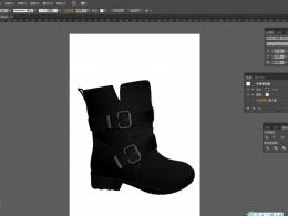 AI画稿,童靴设计