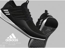阿迪达斯专用驾驶概念鞋设计